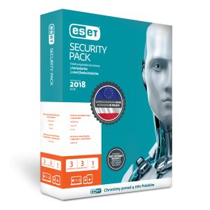 ESET Security Pack 3+3 (3PC+3Mobile)